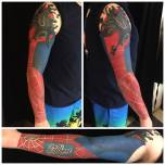 The Ultimate Spider Man Sleeve