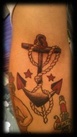 Starry Roped Anchor