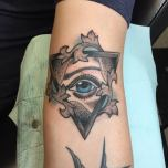 Upside Down Triangle Eye