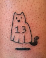 Lucky 13 Ghost Kitty