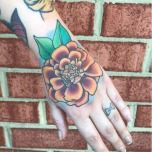 Perfect Hand Flower