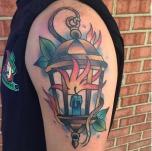 Fiery Lantern
