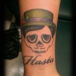 """""""Hasta"""" Skull Head"""