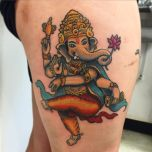 Ganesh Dancing