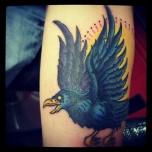 Spooky Raven