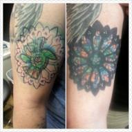 Stained Glass Cover Up