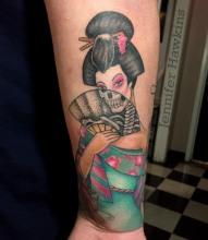 X-Ray Geisha Fan