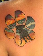 Sandy Puppy Paw