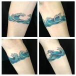 Waves for days armband