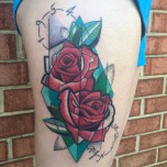 Artsy Craftsy Roses