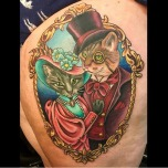 The puurrfect Victorian Cat Portrait